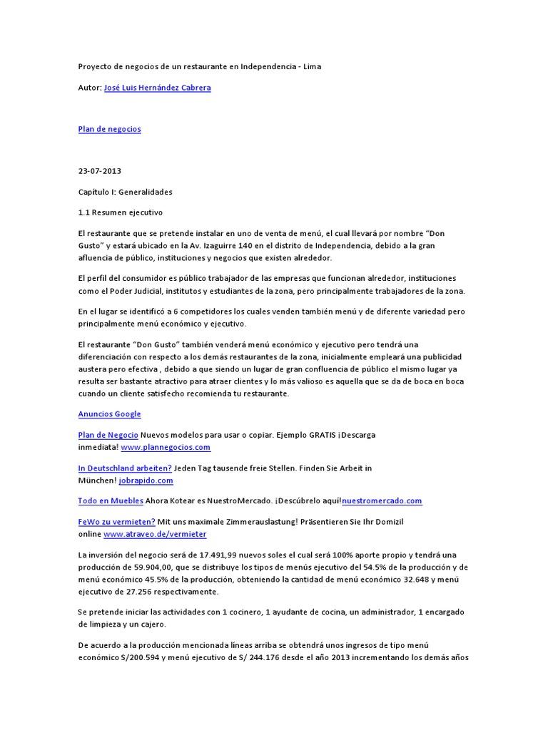 Proyecto de negocios de un restaurante en Independencia.docx