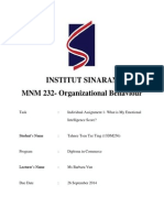 What is my emotional intelligence?
