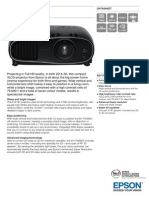 Epson EH-TW6600 3LCD Full HD 3D Home Theatre Projector