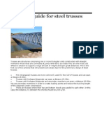 Design guide for steel trusses.docx