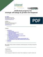 jurnal Intelectual property