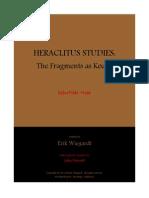 07 Heraclitus Studies