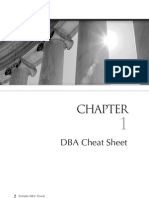 DBA Cheatsheet