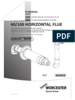 60 100 Horizontal Flue Instructions