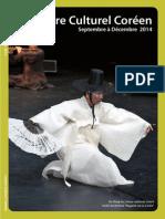 Septembre à Décembre 2014 - Programme du Centre