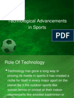 Technological Advancements in Sports