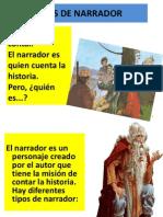 TIPOS DE NARRADOR.ppt