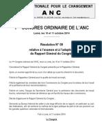 Resolution N°09 RAPPORT GENERAL du CONGRES.docx
