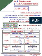 02 - Units & Dimensions (American & International Units)