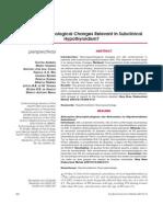 HIPOTIREOIDISMO SUBCLINICO - mudanças neuropsicologicas relevantes.pdf