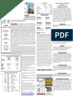 10/12/14 Bulletin