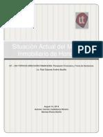 SITUACION ACTUAL DEL MERCADO INMOBILIARIO EN HONDURAS
