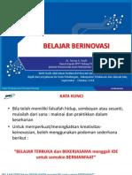 Belajar Berinovasi ~ Tatang A Taufik