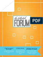 The Hillsdale Forum May 2014