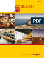 Dhl Express Rate Transit Guide 2013 Hr Hr