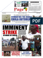 Monday, October 13, 2014 Edition