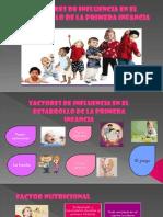 5 FACTORES QUE INFLUYEN EN LA 1ERA INFANCIA ...ISABEL.pptx