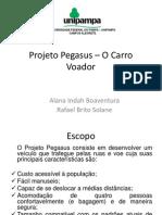 Projeto Pegasus – O Carro Voador_APRESENTAÇAO FINAL.pptx