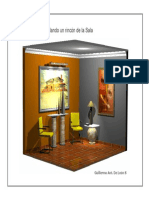 Autocad 3D Modelando un Detalle Sala-Por Guillermo De Leon S..pdf