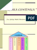 MEJORA CONTINUA HERRAMIENTAS Pre grado GC I 2011.ppt