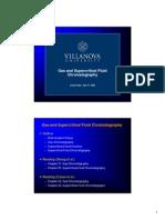 Gas Chromatography and Supercritical Fluid Chromatography