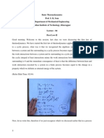 Basic Thermodynamics lecture notes -04 nptel