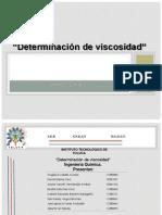 Determinación de viscosidad.pptx