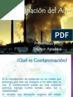 contaminacin del aire  hctor apodaca