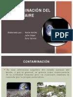 contaminacin del aire