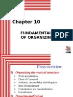 Fundamentals of Organizing