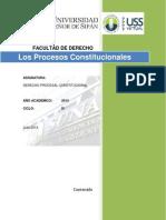 Los Procesos Constitucionales