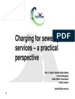 Charging for Sewerage Services-A Practical Perspective