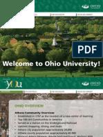 Ohio University Admissions PowerPoint
