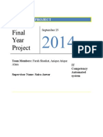 Fyp Proposal(2014)