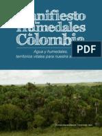 IAvHC. Manifiesto por los Humedales de Colombia. Agua y Humedales, Territorios Vitales para Nuestra Sociedad.pdf