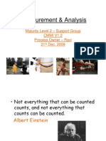 Measurement & Analysis CMMI