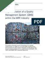 QMS Guidance Document