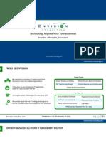 Envision Managed Presentation 2014