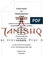 market research report on Tanishq