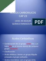 ACIDOS CARBOXILICOS Ejercicios sin responder.pptx