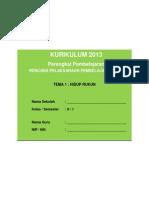 RPP KURIKULUM 2013 SD KELAS 2 SEMESTER 1 - Tema Hidup Rukun - Sub Tema 1 - Hidup Rukun di Rumah - pembelajaran 1.pdf