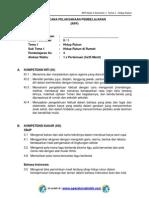 RPP KURIKULUM 2013 SD KELAS 2 SEMESTER 1 - Tema Hidup Rukun - Sub Tema 1 - Hidup Rukun di Rumah - pembelajaran 3.pdf