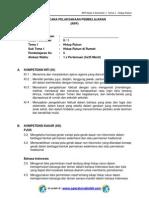 RPP KURIKULUM 2013 SD KELAS 2 SEMESTER 1 - Tema Hidup Rukun - Sub Tema 1 - Hidup Rukun di Rumah - pembelajaran 5.pdf