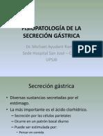Clase 17 - FISIOPATOLOGÍA DE LA SECRECIÓN GÁSTRICA.pptx