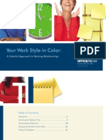 Your Work Style in Color