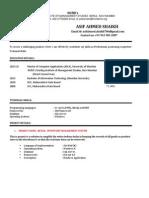 Asif Resume
