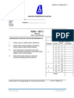 Modul Fizik Cakna Kelantan SPM 2014 K2 Set 1 Dan Skema