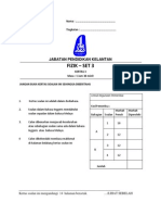 Modul Fizik Cakna Kelantan SPM 2014 K3 Set 3 Dan Skema