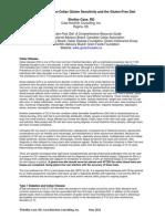 Celiac Gluten Sensitivity GF Diet by ShelleyCase May 2014-FinalSC
