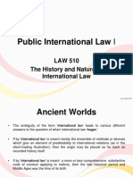 The History and Nature of International Law.ppt